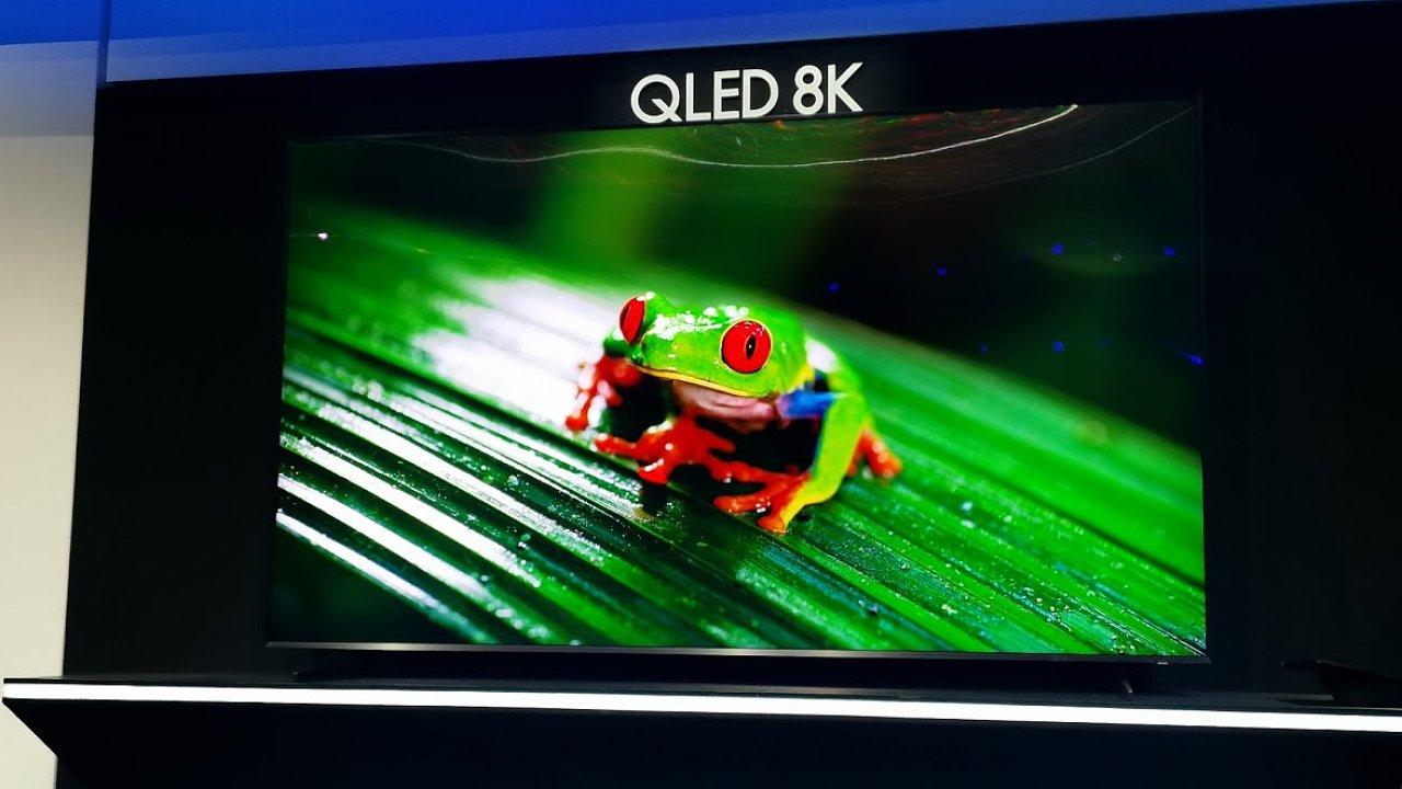 Samsung představil rekordní 8K QLED televizor s úhlopříčkou 98