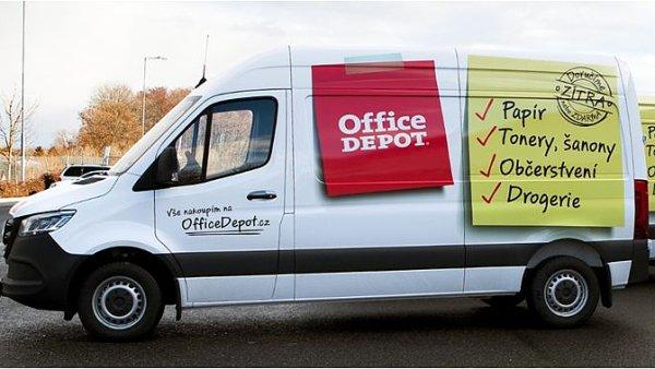 Prodejce kancelářského vybavení mění design svých vozů.