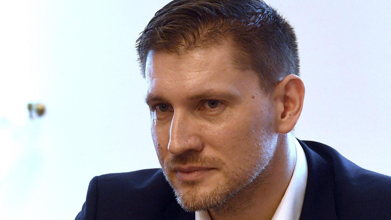 Nový šéf Českých drah Václav Nebeský