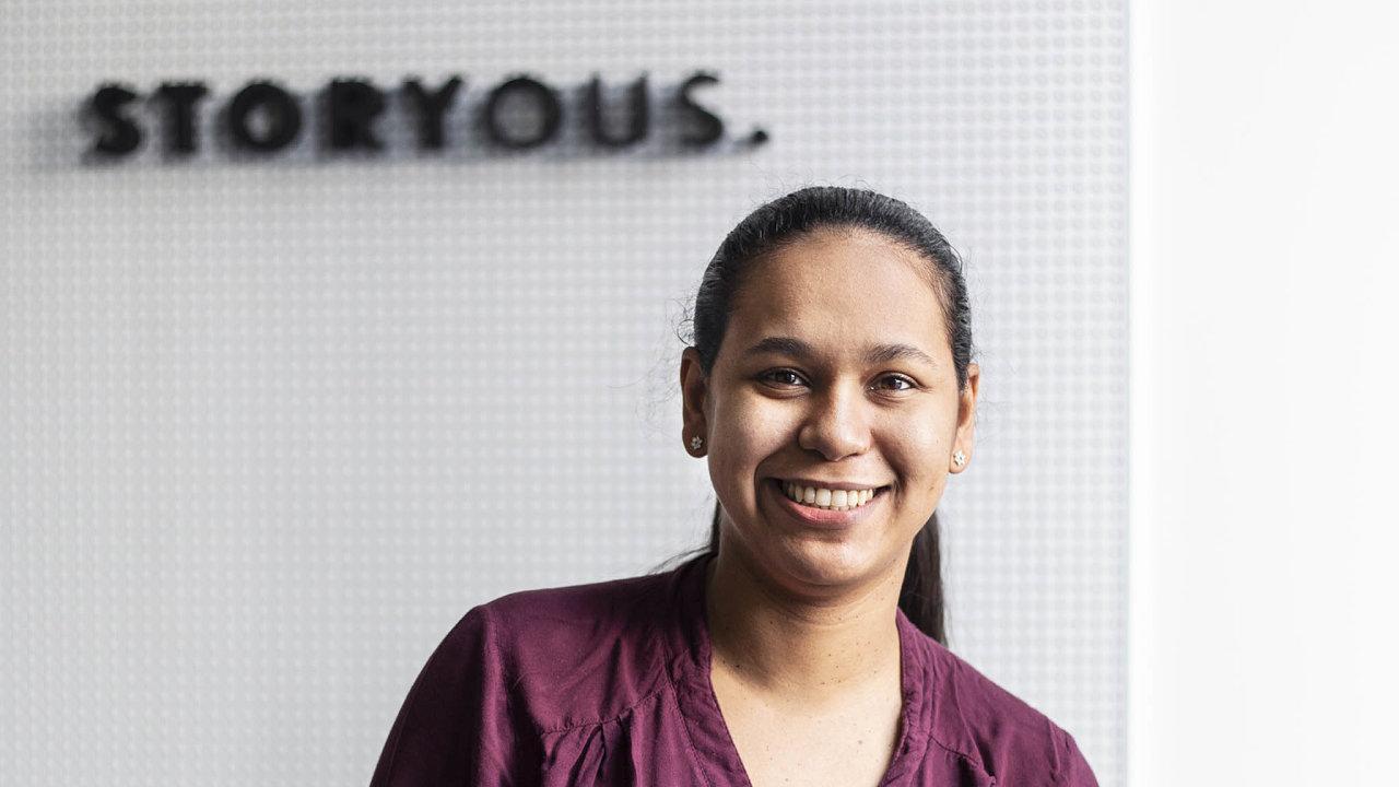 Marii Cortezové (28) se po čtyřech letech na volné noze splnil sen. Našla si práci tisíce kilometrů od domova.