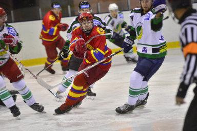 Peníze budou od Národní sportovní agentury dostávat přímo kluby, jako třeba hokejové Hvězda Praha či HC Smíchov (na snímku).