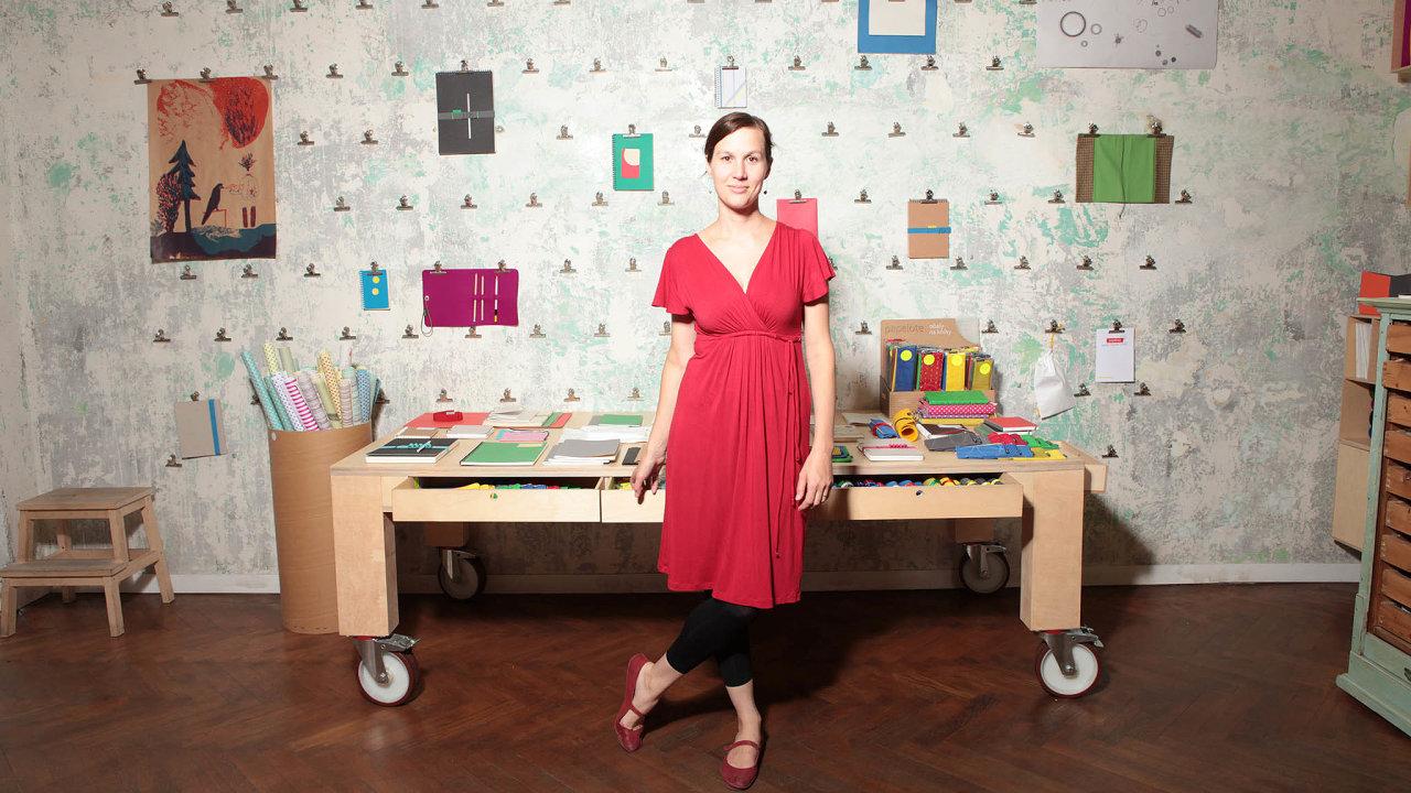 Designérka Kateřina Šachová