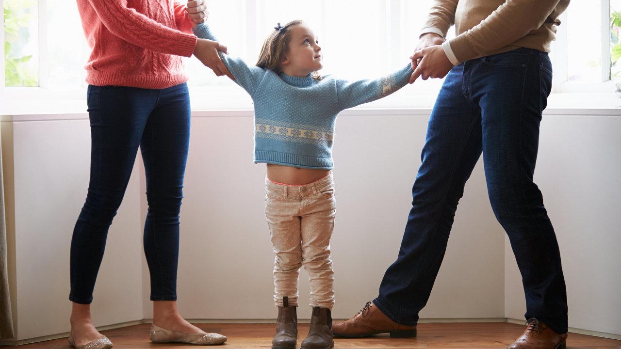 děti, rozvod, střídavá péče