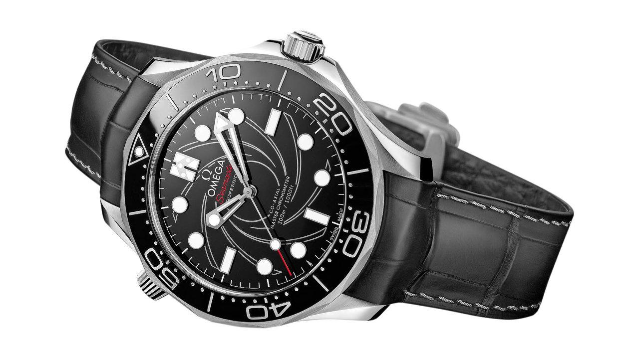 Cítit se jako James Bond. Zcela nový model Omega Seamaster Diver 300M Platinum včíslované edici uspokojí všechny fanoušky stylových chronometrů, ale také milovníky ikonického filmu aagenta 007.Cena 1 402 20...