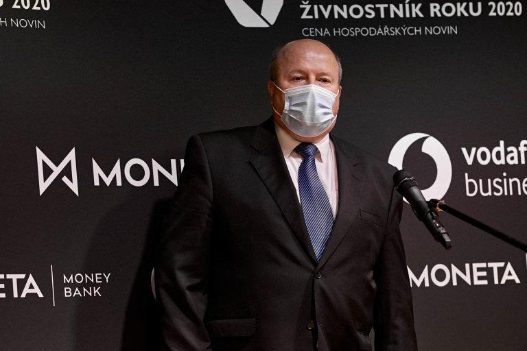 Luboš Novotný, marketingový manažer společnosti Mikroelektronika, Vodafone Firma roku 2020 Pardubického kraje