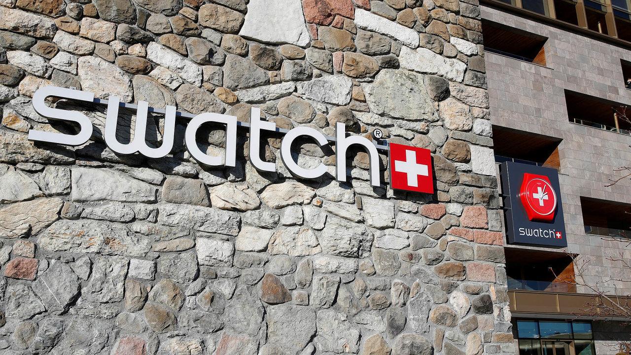 Švýcarský výrobce hodinek Swatch vprosinci otevřel butik vpražském Florentinu.