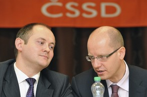 Michal Hašek a Bohuslav Sobotka