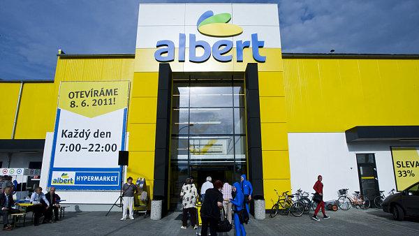 Společnost Ahold Delhaize provozuje v Česku síť supermarketů Albert.