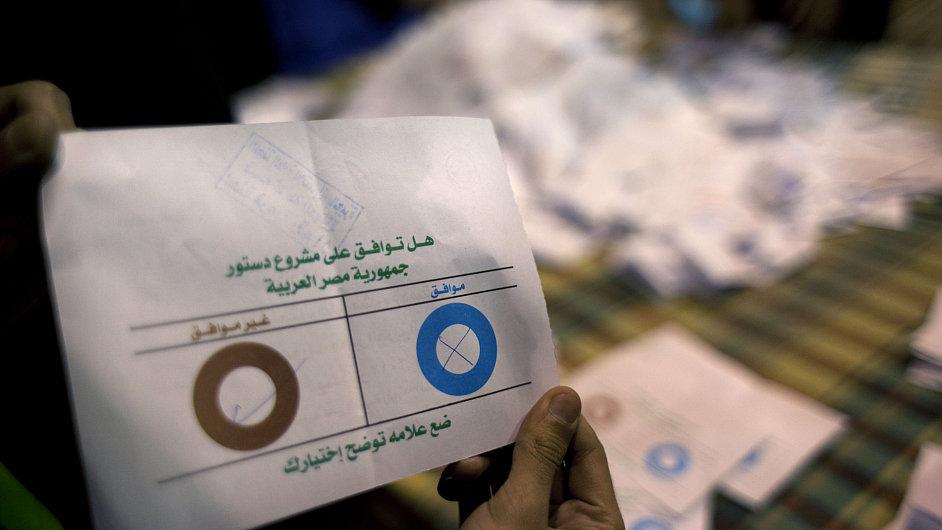 Referendum o ústavě v Egyptě.