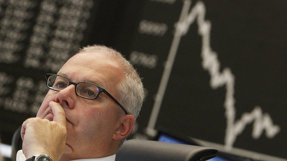 Propad akcií na světových trzích