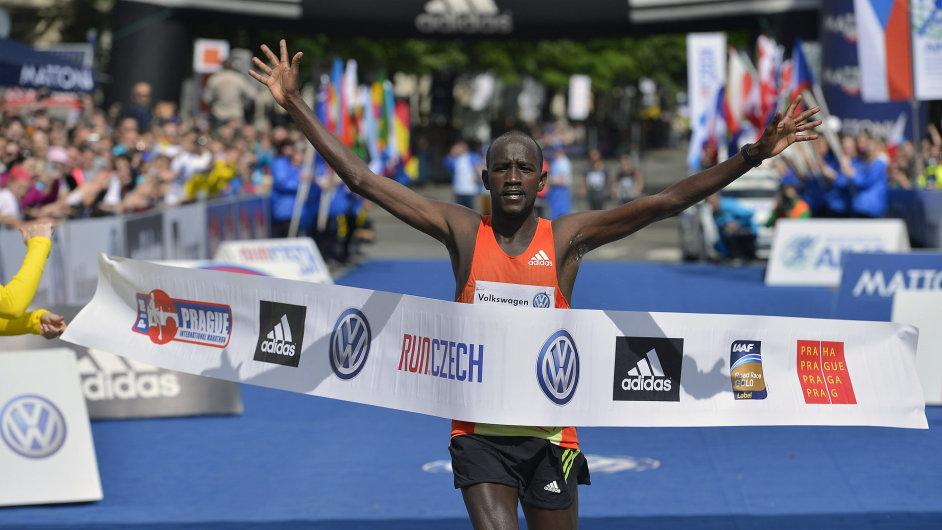 Nicholas Kemboi vyhrál Pražský maraton