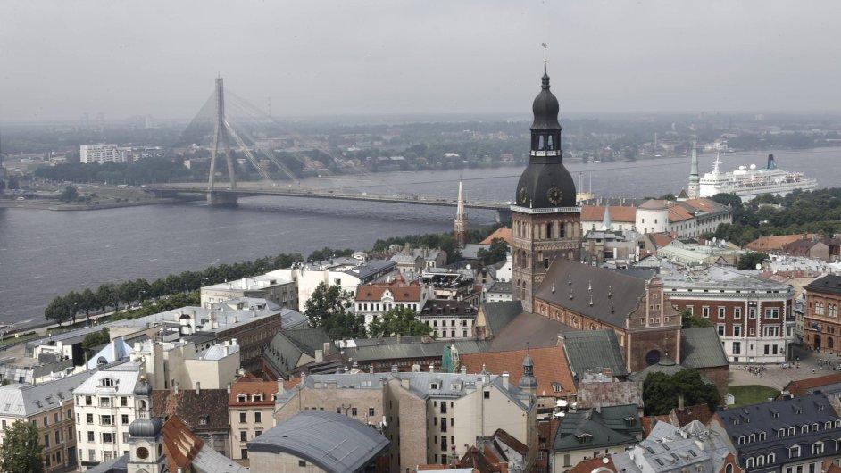 Riga, hlavní město Lotyšska.
