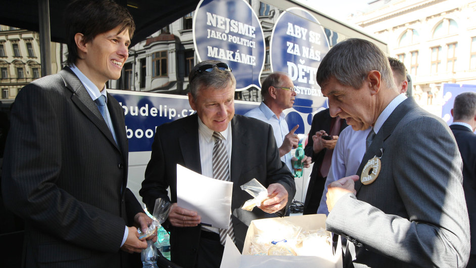 Zahájení předvolební kampaně ANO 2011