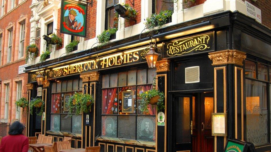 Odkaz Sherlocka Holmese zůstává v Londýně. Například v podobě restaurace.