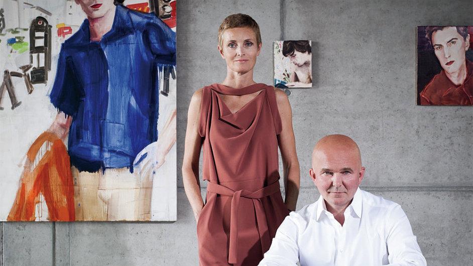 Karen a Christian Borosovi shromáždili současné umění v bunkru