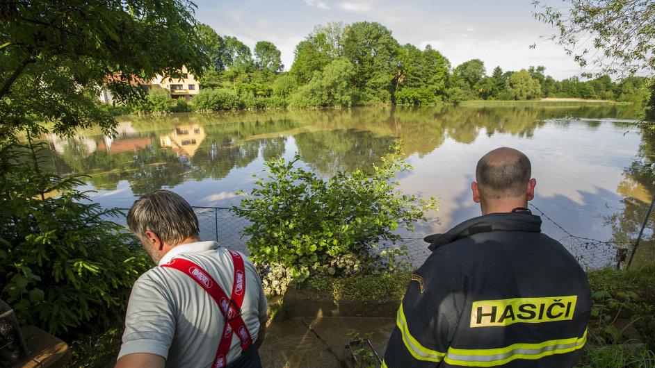 Přívalový déšť způsobil 27. května v jižní části okresu Rychnov nad Kněžnou lokální záplavy.