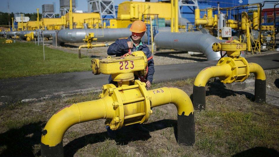 Ukrajinský plynovod, ilustrační foto