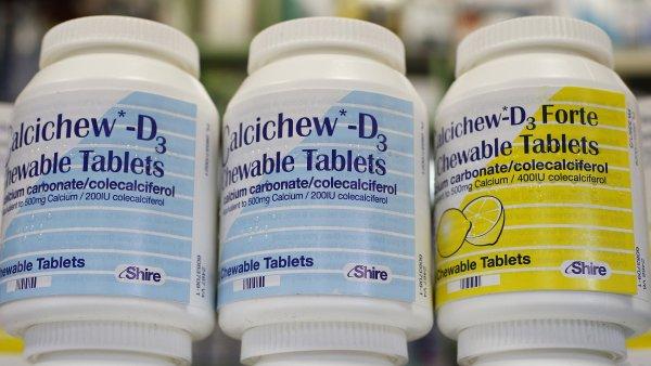 V sortimentu farmaceutické firmy Shire jsou i vitaminy.