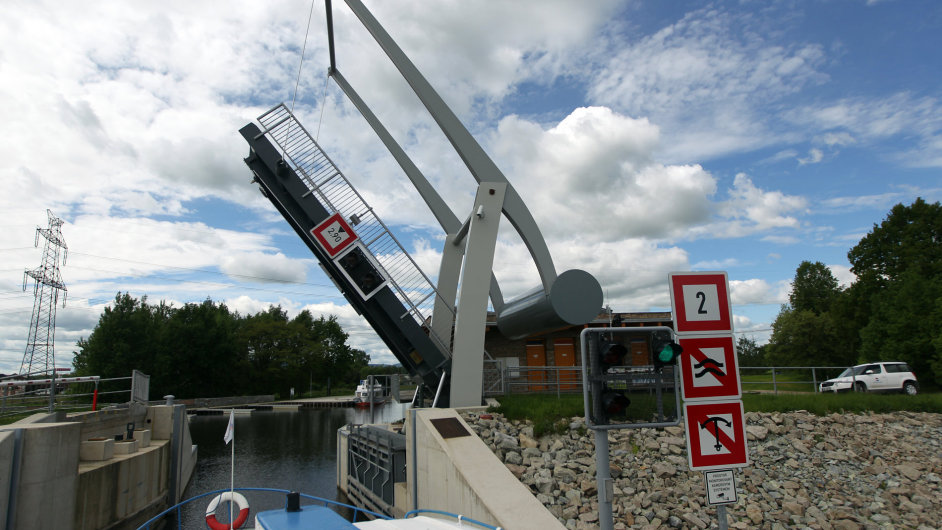 Nové logistické centrum u Hodonína bude využívat dunajskou vodní cestu - Ilustrační foto.