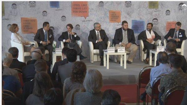 Odpolední hlavní panel Priority a cíle pro demokracii ve 21. století