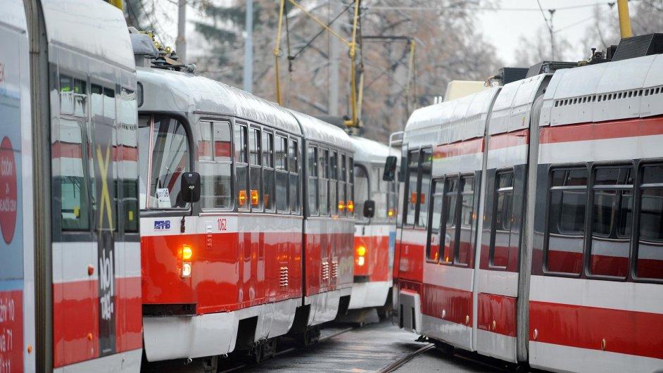 Radní Prahy 6 nechtějí změny v trasách tramvajových linek (ilustrační foto).