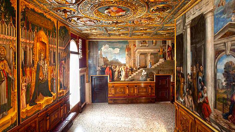 Gallerie dell'Accademia v Benátkách letos dostala 600 tisíc eur od firmy Samsung.