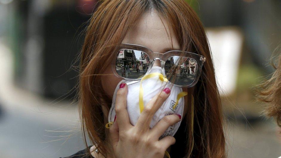 Současná epidemie v Jižní Koreji slábne