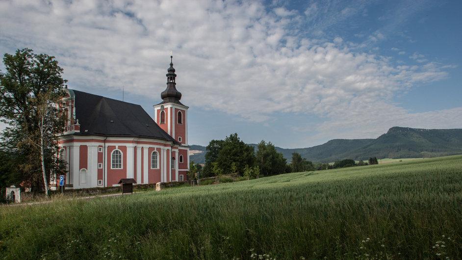 Kostel svaté Máří Magdalény v Božanově