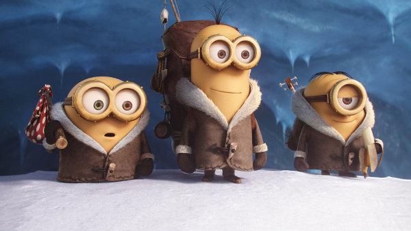 Animovaný film Mimoni vidělo téměř 831 tisíc českých diváků.