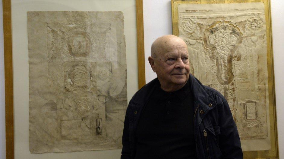 Snímky z výstavy Aleše Veselého