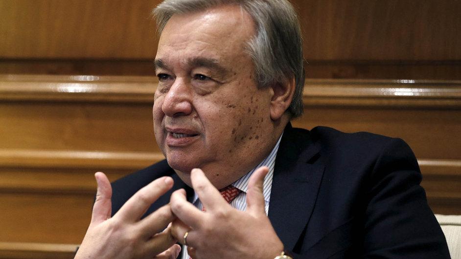 Antonio Guterres, vysoký komisař OSN pro uprchlíky