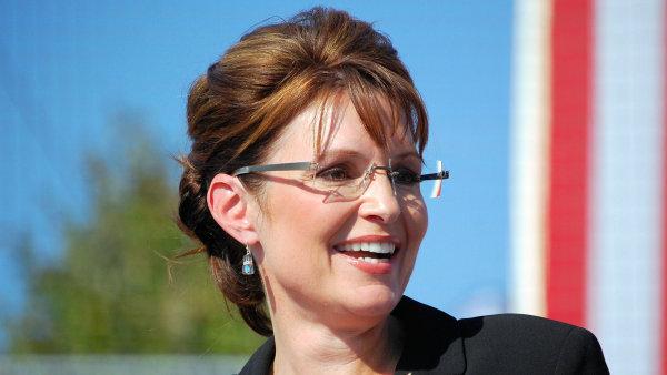 Sarah Palinov� p�i kampani v roce 2008