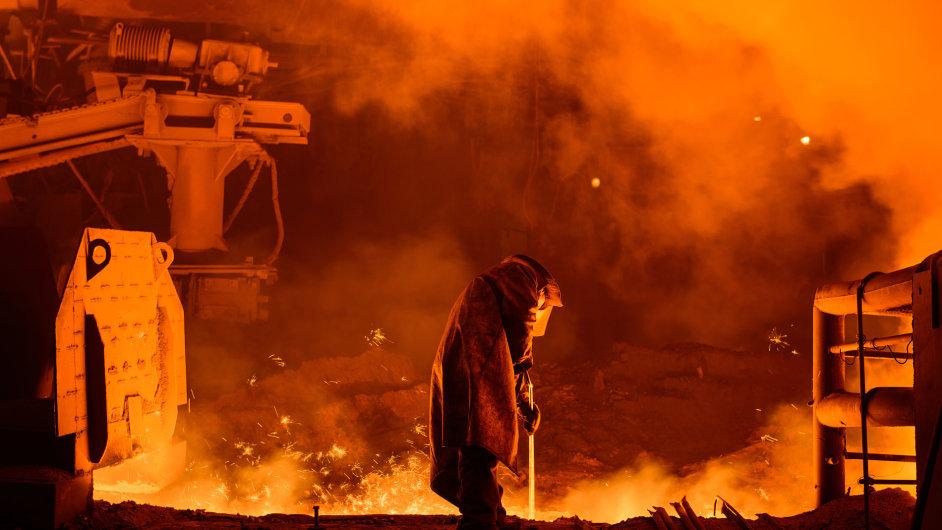 huť, hutnictví, ocel, ocelárna, ocelářství
