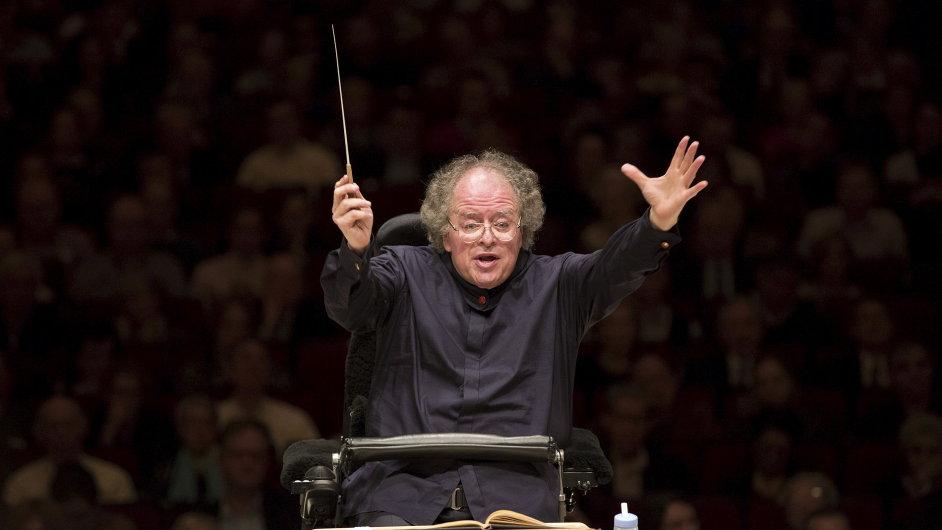 James Levine na snímku z vystoupení orchestru Met v Carnegie Hall v květnu 2013.