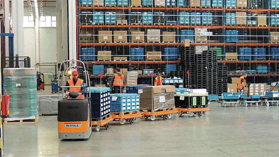 Výrobce autodílů Kiekert se dostal mezi nejlepší logistické projekty Evropy.