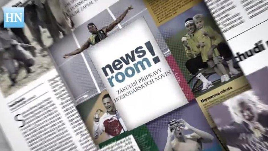 Newsroom: Se šéfredaktorem o zítřejším vydání Hospodářských novin