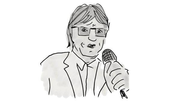 Miloš Čermák, šéfredaktor ekonomického portálu iHNED.cz
