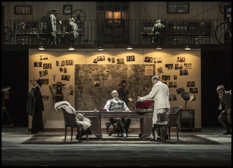Snímek z nové inscenace Toscy.