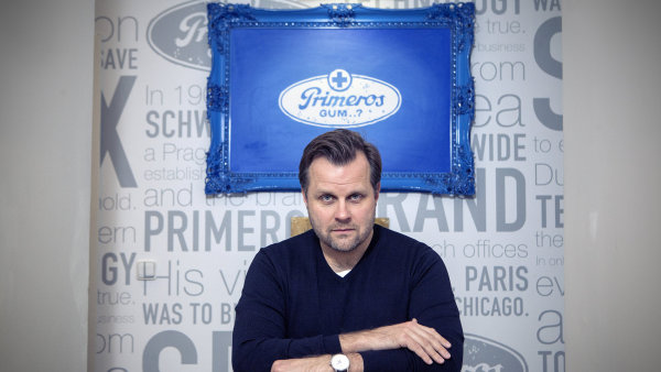 Roman Kocián, ředitel a majitel firmy Primeros