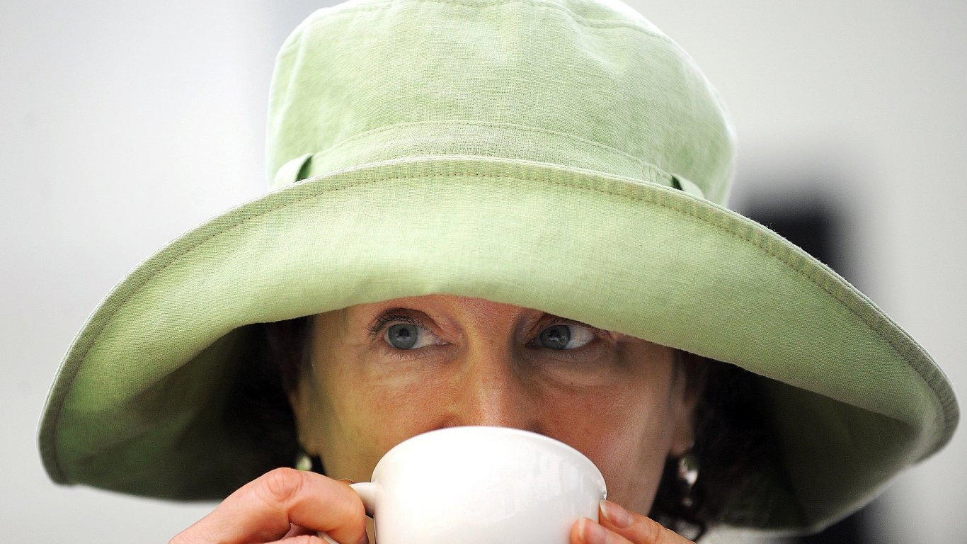 Margaret Atwoodová je na archivním snímku z roku 2008, kdy navštívila Festival spisovatelů Praha.