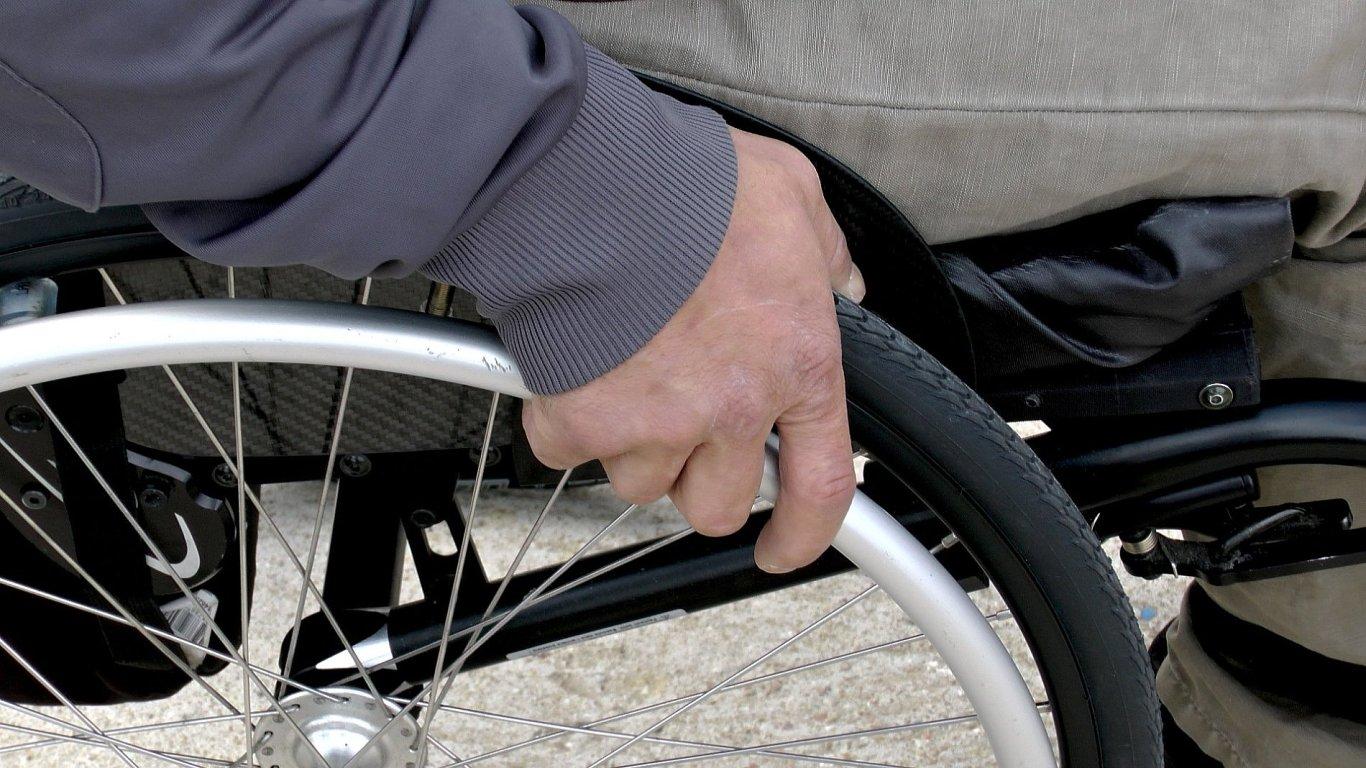 Zaměstnání zdravotně handicapovaných, ilustrace