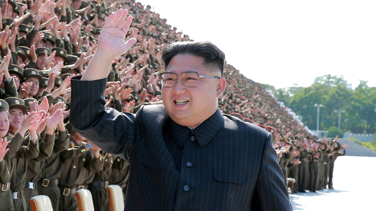Severokorejský diktátor Kim Čong-un cvičně odpálil vodíkovou pumu.