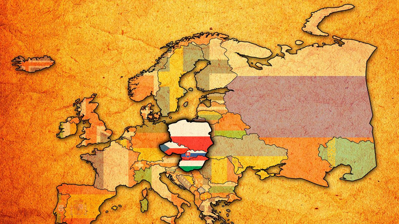 Průzkum personálněporadenské společnosti Antal International zkoumal náladu firem v zemích visegrádské čtyřky.