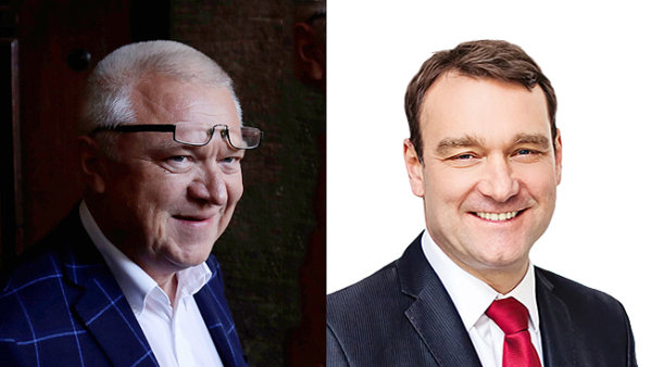 Jaroslav Faltýnek a Radim Fiala se dobře znají ze svého působení na prostějovské radnici.