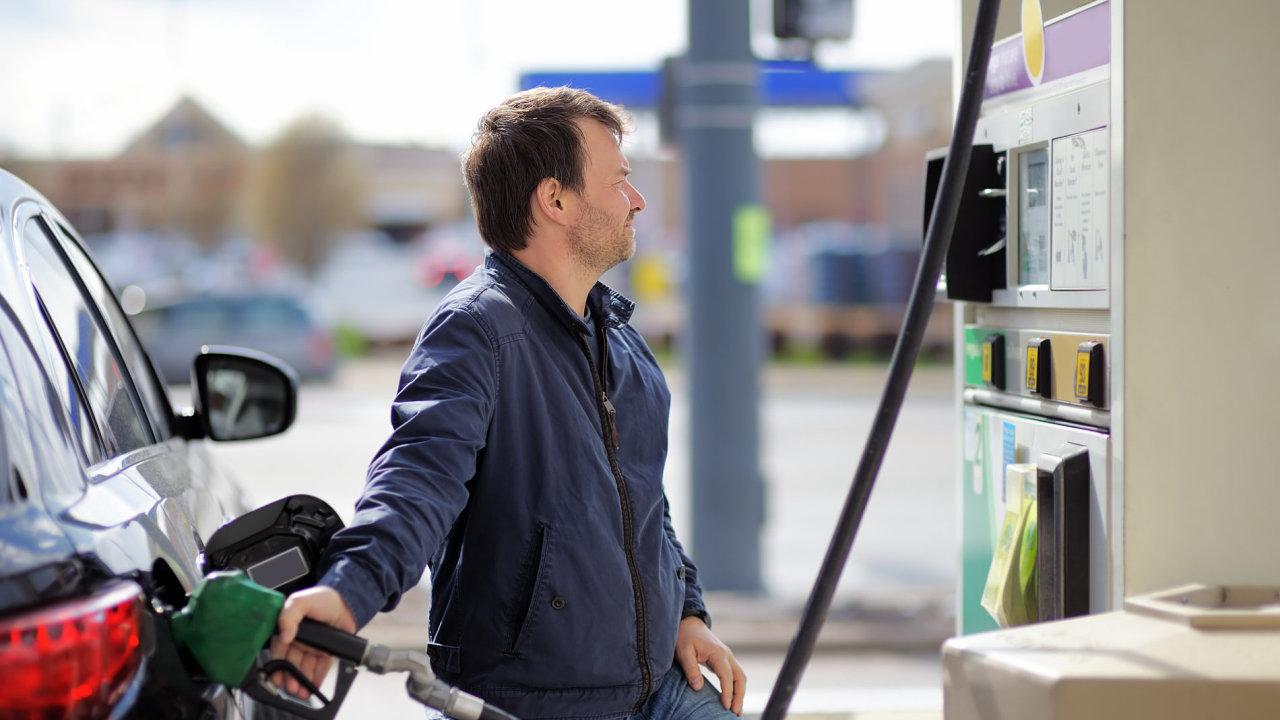 pohonné hmoty benzin nafta tankování čerpací stanice benzinky benzina