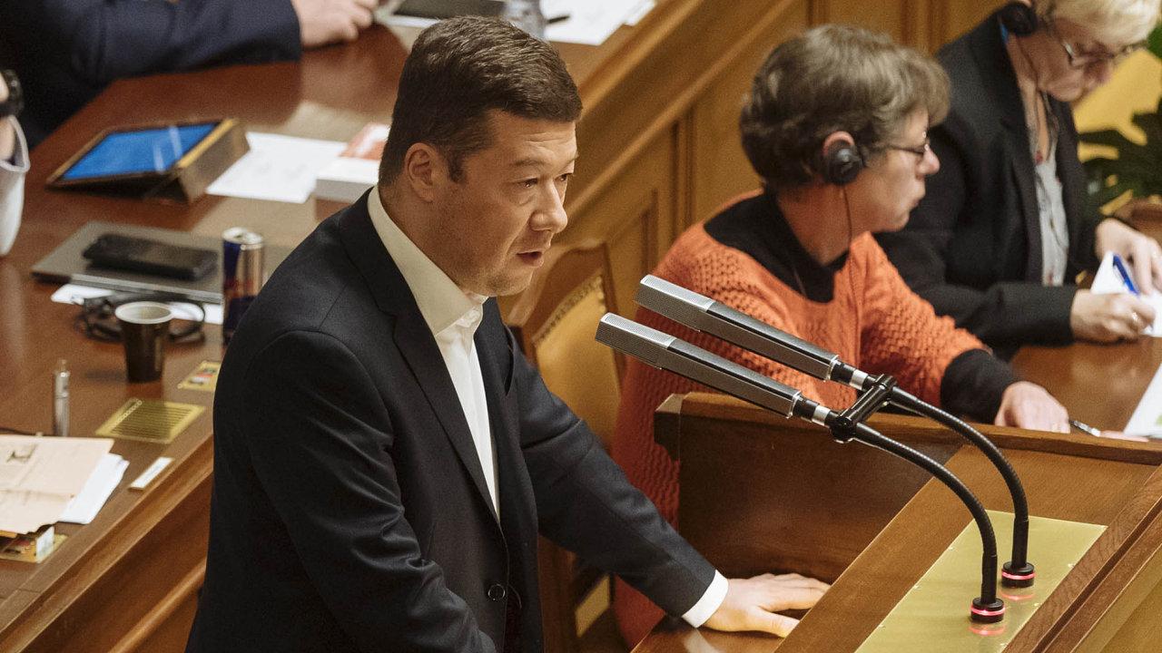 Hnutí SPD už Andrej Babiš tolik nepotřebuje. Někteří členové hnutí ANO chtějí umenšit vliv Tomia Okamury ajeho 22 poslanců.