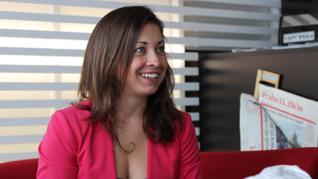Lucie Brešová, COO & CFO SkyPicker