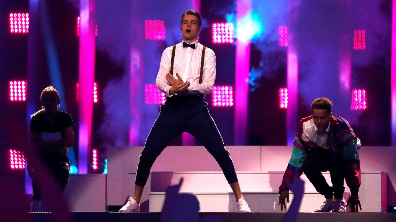 Český zpěvák Mikolas Josef se zúčastní sobotního finále mezinárodní písňové soutěže Eurovize.