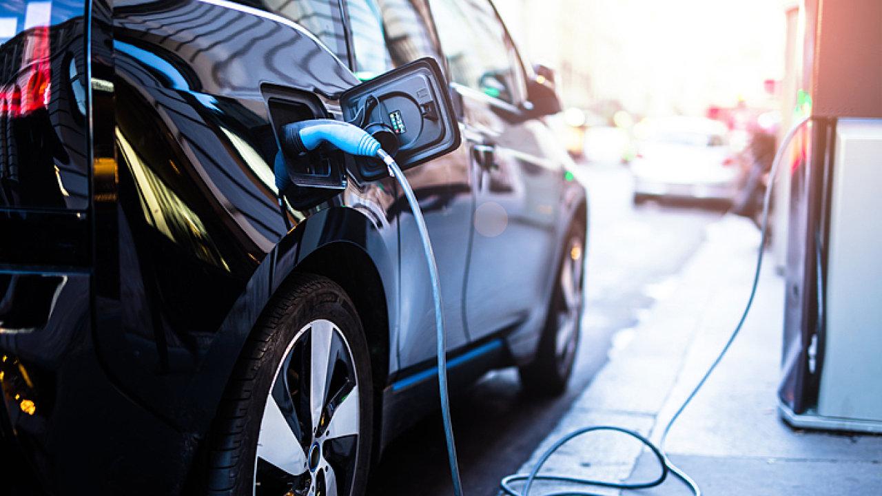 elektroauto - ilustrační foto