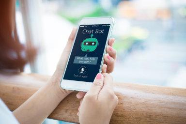 Nejpopulárnějším využitím pro umělou inteligenci jsou chatoví roboti - Ilustrační foto.